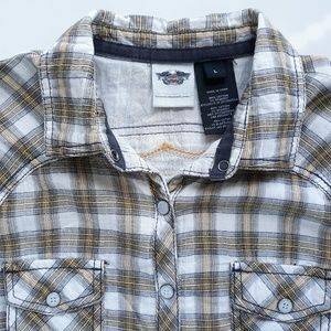 Harley Davidson Mens Short Sleeve Shirt Size L